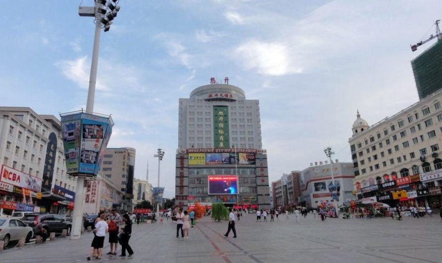 В перерыве между поездами прогулялся по Суйфеньхэ