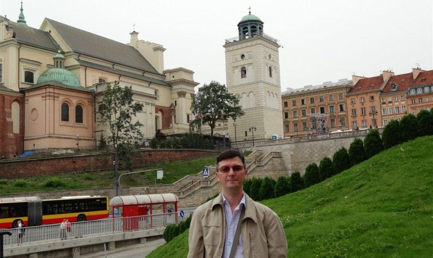 Въезжаем в Польшу и осматриваем Варшаву
