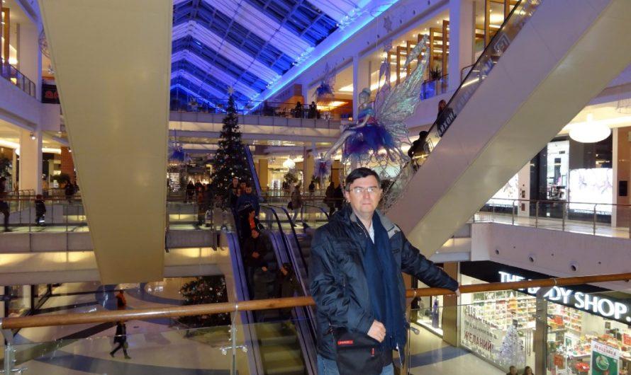 Интерьеры торгового центра Метрополис на Войковской