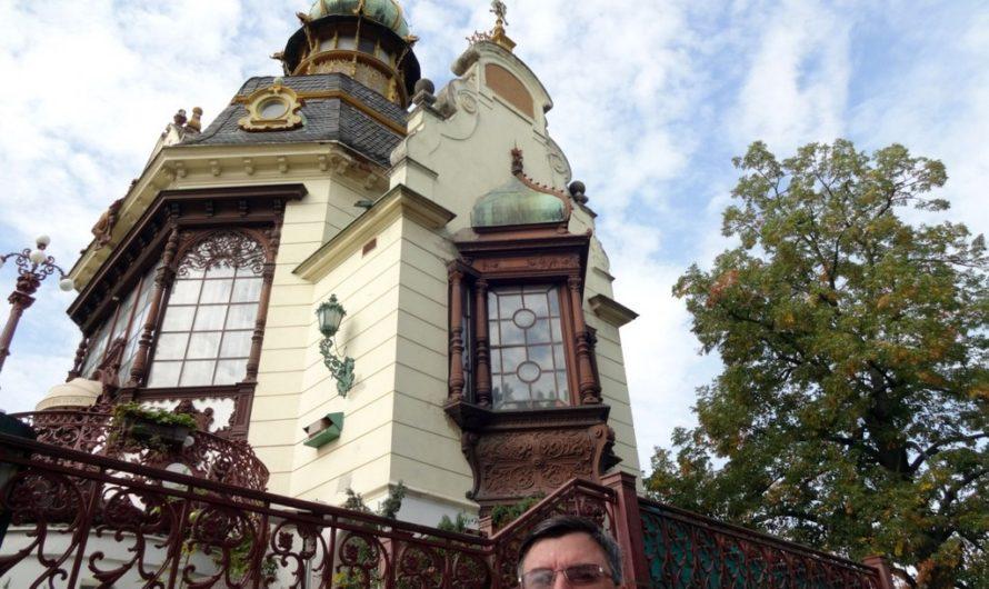 Шикарные виды на Прагу из Летенских садов